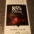 Lindt EXCELLENCE 85% COCOA DARK NOIR