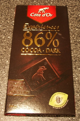 Cote d'Or Experiences 86% COCOA Dark