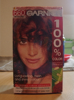 GARNIER 100%COLOR 660 INTENSE RED