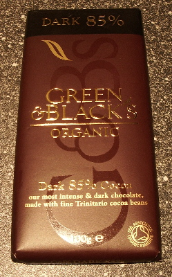 GREEN & BLACK'S ORGANIC DARK 85%
