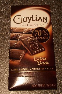 GUYLIAN Extra Dark 70% cocoa