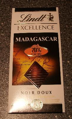 Lindt MADAGASCAR 70% CACAO